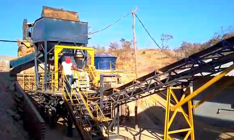 Planta piloto da fase 1 do projeto tem produção prevista de 15 kg de ouro por mês