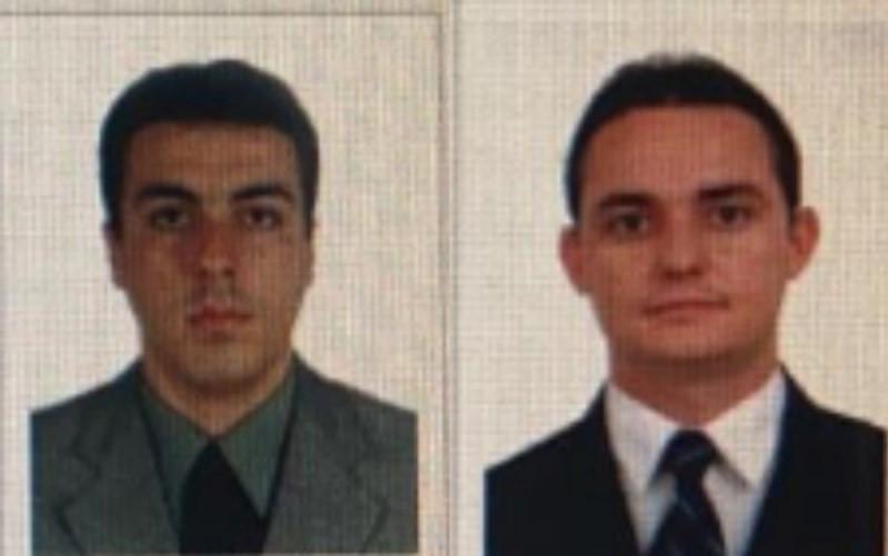 Da esquerda para a direita, advogados Marcus Aprígio Chaves e Frank Alessandro Carvalhaes de Assis