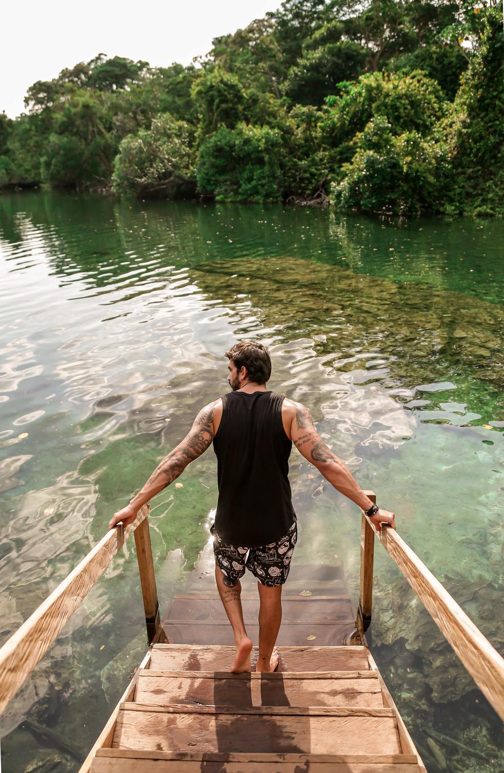 Ex-BBB conhece as belezas naturais do Jalapão