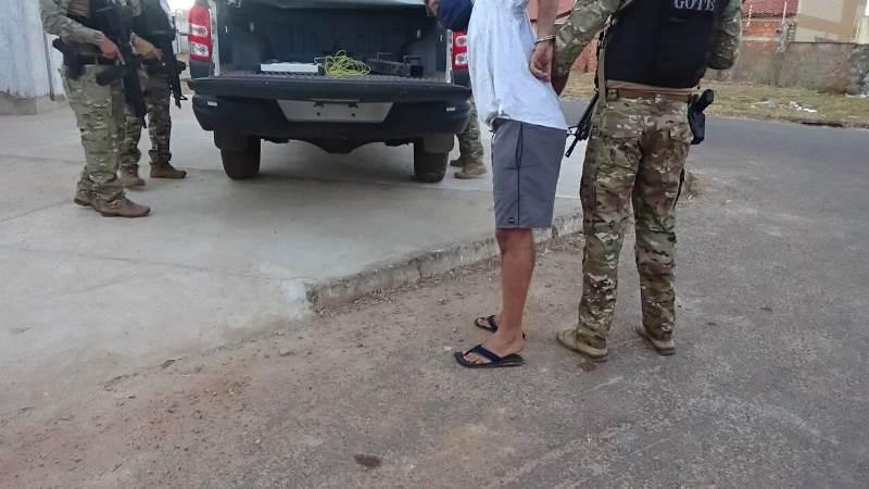 Operação da Polícia Civil do Tocantins